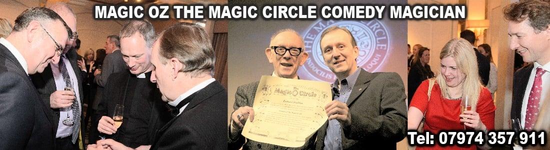 Magic Circle Magician Sussex Magic OZ